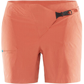 Klättermusen W's Vanadis Shorts Stone Red